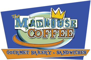 Madhouse coffee logo for vegas local store