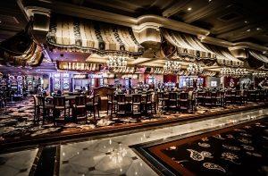 Vegas casino floor